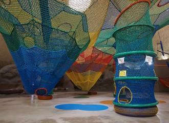 国営滝野すずらん丘陵公園 虹の巣ドーム内 虹の巣ネット