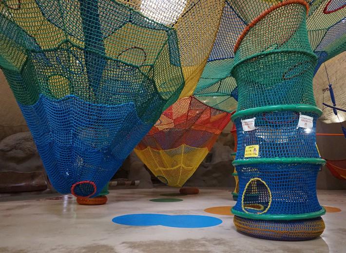 国営滝野すずらん丘陵公園 虹の巣ドーム内 虹の巣ネット1