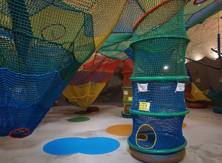 国営滝野すずらん丘陵公園 虹の巣ドーム内 虹の巣ネット3
