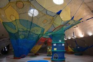 国営滝野すずらん丘陵公園 虹の巣ドーム内 虹の巣ネット5