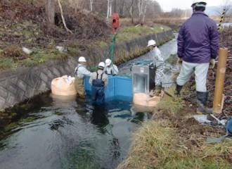 喜茂別町 目名川 マイクロ水力発電